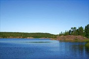 Фото. 94. Ладожское озеро, залив Койрононлахти