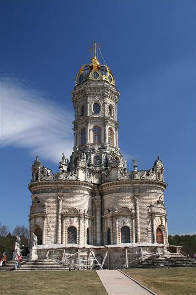 Церковь Знамения - самая необычная церковь Подмосковья