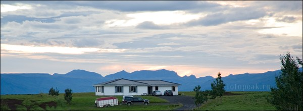 Исландский закат
