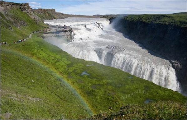 Водопад Гюлфосс (Gullfoss)