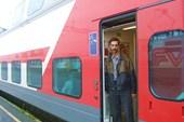 В вагоне поезда Хельсинки-Рованиеми