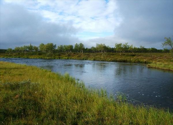 Nikulasjoki в 200м от истока