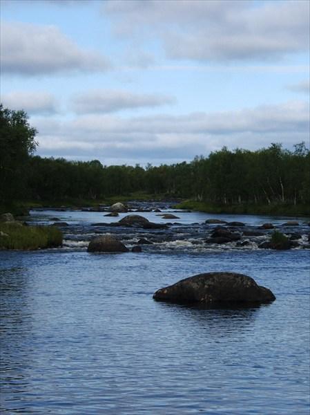 Камни в русле р. Vaijoki