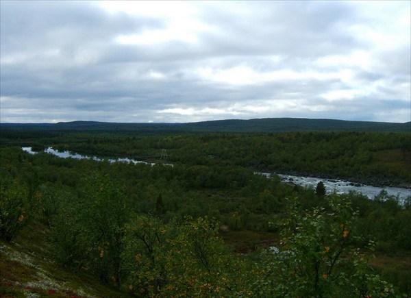 Панорама Naatamojoki в Kallokoski