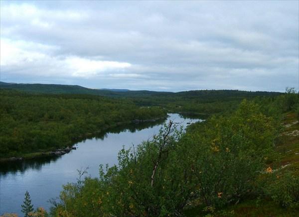Панорама в норвежскую сторону