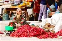 Кусочек узбекского базара