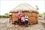 Каракалпакская семья