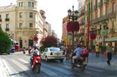 Одна из улиц Гранады