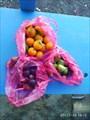 Вкусные местные фрукты.