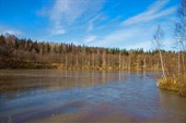 Озеро перед плотиной