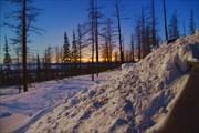 Вид на город Норильск
