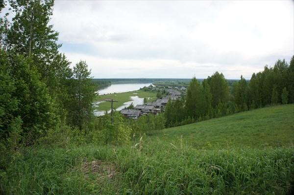 День 4: вид на Родому с холма