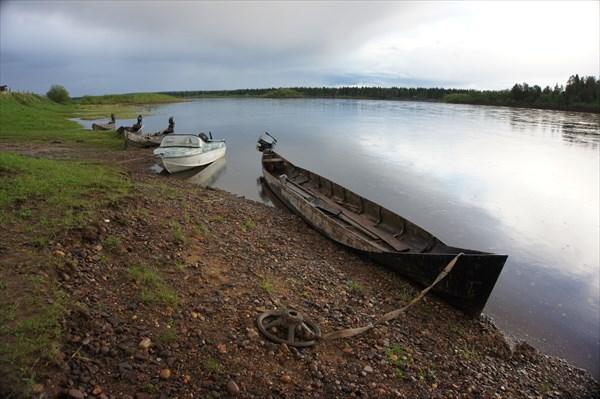 День 5: Усть-Низемье, лодка мезенка