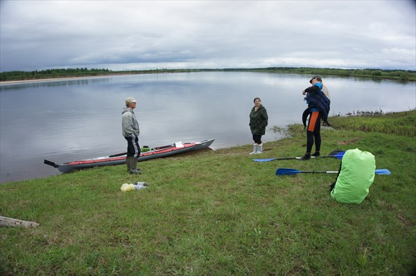 День 6: Усть-Низемье, отплываем