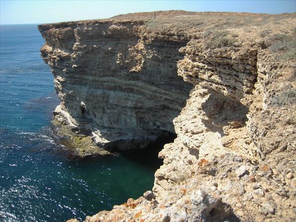 Тарханкут, прибрежная полоса