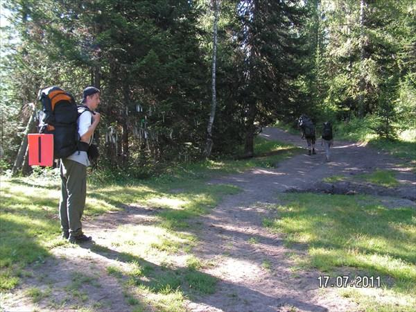 На перевале Кузуяк