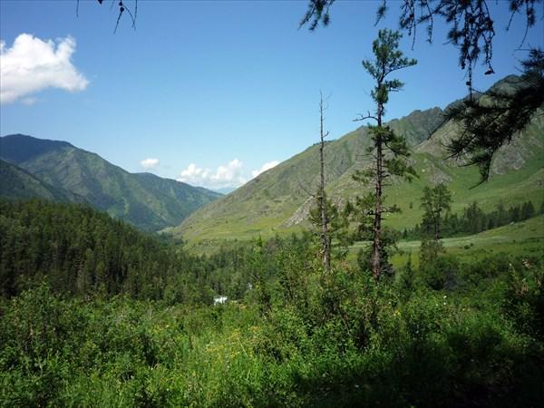 Кучерлинское ущелье в районе урочища Елань