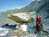 На пути к леднику Западный.