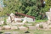 Пушки у башни Хыдырлык