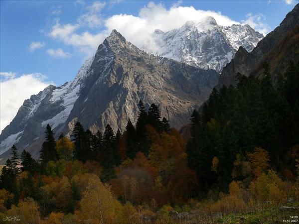 Золотая осень на Русской поляне