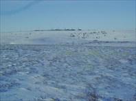 Вид на КС-4 со стороны Уральских гор.