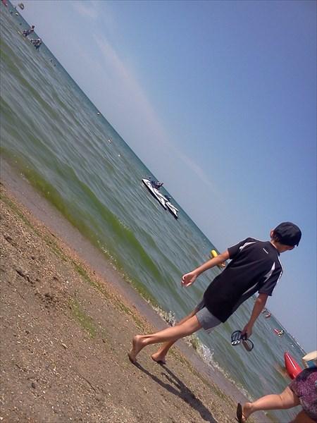 на фото: Море