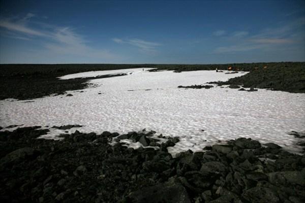 Снежник на вершине Маннепахк