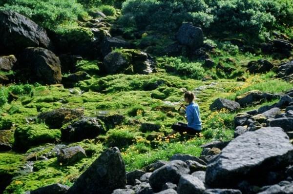 На ручье Чивруай