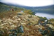 Лагерь на озере Сенгисъявр