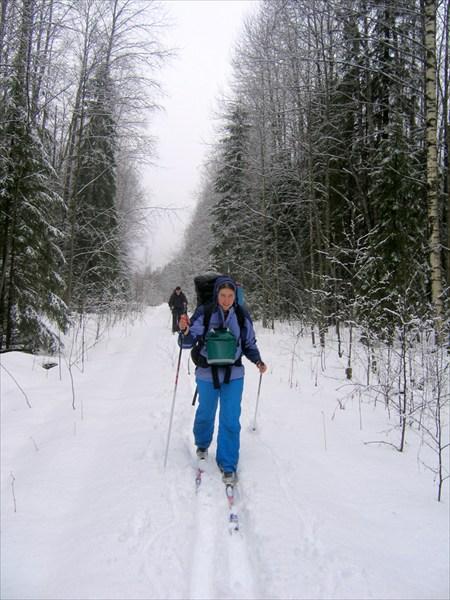 Лыжный поход. Реконьская пустынь