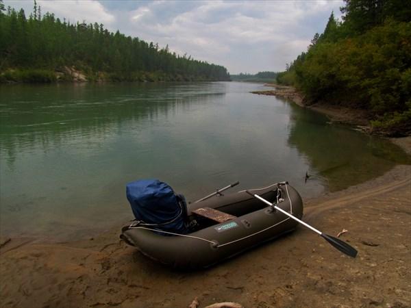 Река Муя устье Уликер