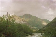 Кусок радуги над Водопадным