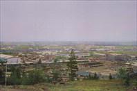 Северобайкальск с горы