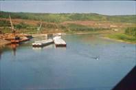 река Лена около станции Лена