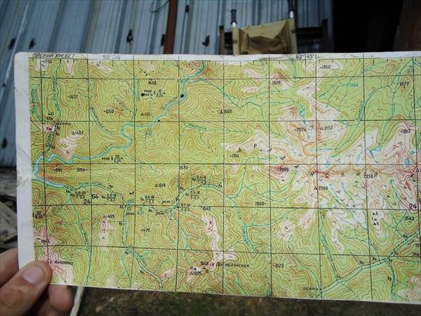 карта движения