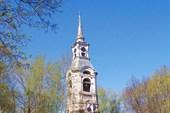 Колокольня  церкви Преображения Господня