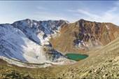 Безымянное озеро под вершиной Талдуайр 3505 м