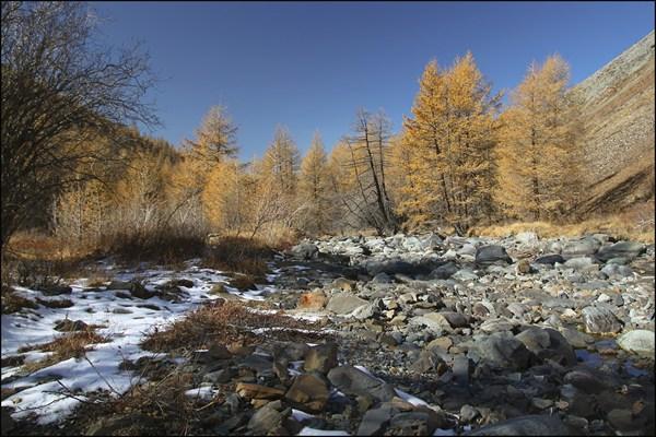 Долина реки Сайлюгем. Хребет Чихачева.