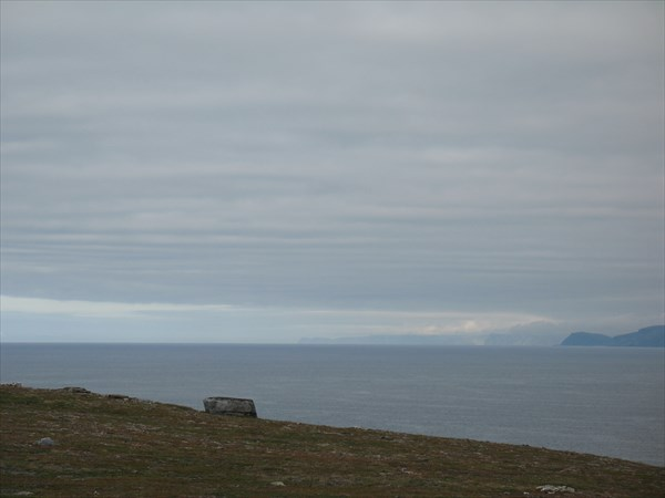Вид на Парсангерфьорден в сторону  полуостроваНордкин