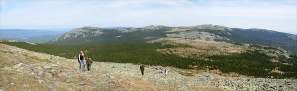 Панорама восхождения