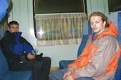 Утренняя заброска в Домодедово