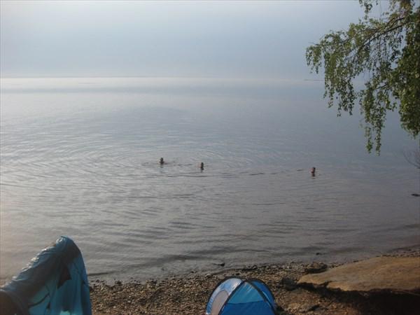 Утреннее купание