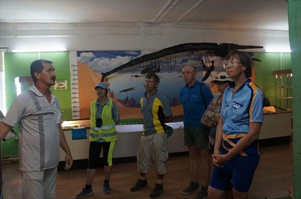 В Ундоровском палеонтологическом музее