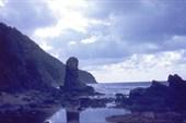Скалы северного побережья острова Кунашир