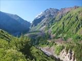 Ущелье на перевал Ала-Арча