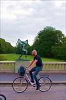 Парк скульптур Вигеланда-город Осло