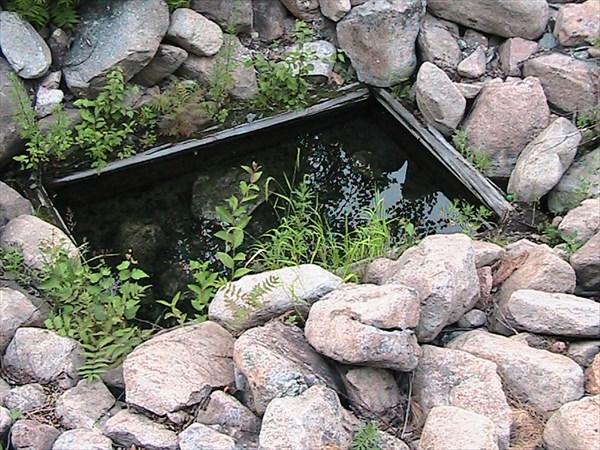 Горячий источник у Змеиного озера.