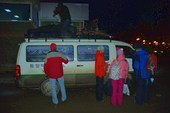 31.12.2007 город Иркутск. Дружно грузимся