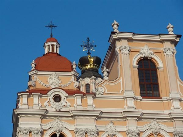 Купол церкви Св. Казимира.