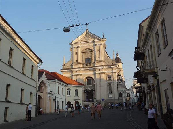 Вильнюс. Церковь Св. Терезы.